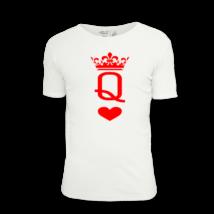 Királynő póló nőknek