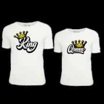 King/Quenn3  póló