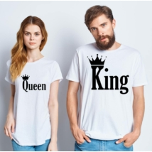 King/Quenn póló