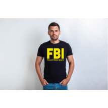 FBI Faszom Bánja Igyunk Póló