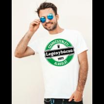 Legénybúcsú-szarkészenléti alakulat póló