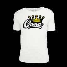Queen feliratos női póló