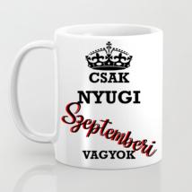 Csak nyugi szeptemberi vagyok