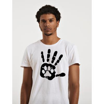 Kutyabarát férfi póló