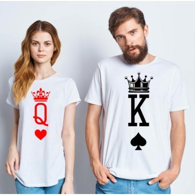 King/Quenn2  póló