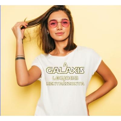 Galaxis legjobb menyasszonya póló