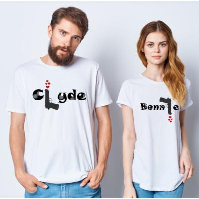Bonnie/Clyde póló