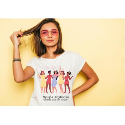 Nyugis lánybúcsú+amiről a fiúk nem tudnak póló