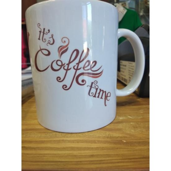 Kávé mintás bögre